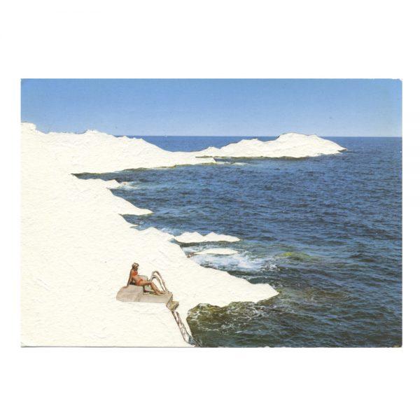 carte postale,galerie d'art, art contemporain, exposition, aix en provence